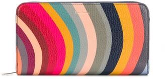 Paul Smith Swirl zip-around wallet