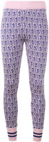 Gucci Mushrooms jacquard knit leggings - women - Cotton/Viscose - XXS