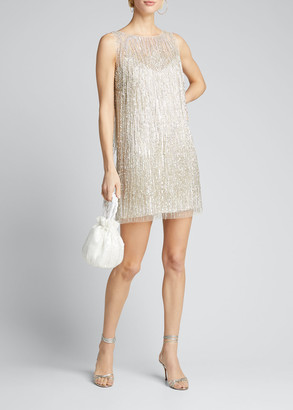 Fringed Mini Cocktail Dress