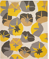 DwellStudio Big Floral 8x10 Rug in Citrine