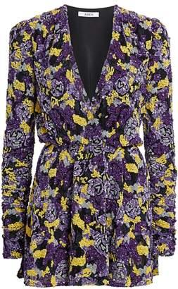 Amen Embellished Mini Dress