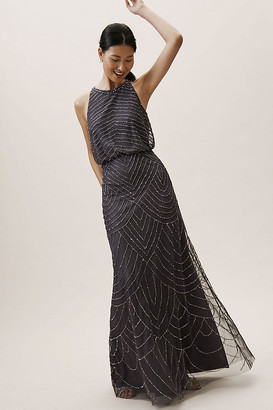 Adrianna Papell Madigan Dress By in Grey Size 0