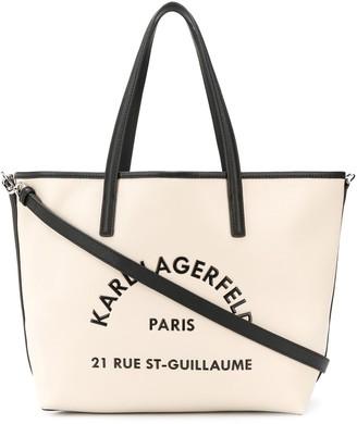 Karl Lagerfeld Paris Rue St Guillaume tote bag