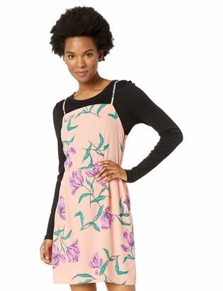 Obey Womens Sunset Dress Casual Dress