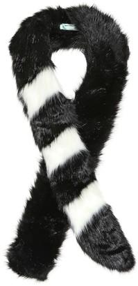 Off-White Faux fur scarf