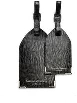Aspinal of London Leather Luggage Tags (Set of 2)