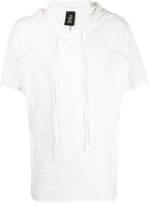Thom Krom Short Sleeved Cotton Hoodie