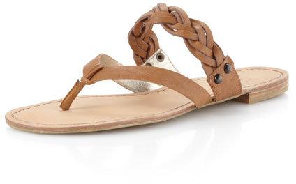 Thumbnail for your product : Pelle Moda Hadek Thong Sandal, Tumbleweed