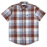Brixton Men's Charter Standard Fit Short Sleeve Woven Shirt