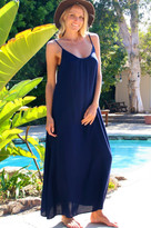 Tysa Long Perfect Dress In Navy