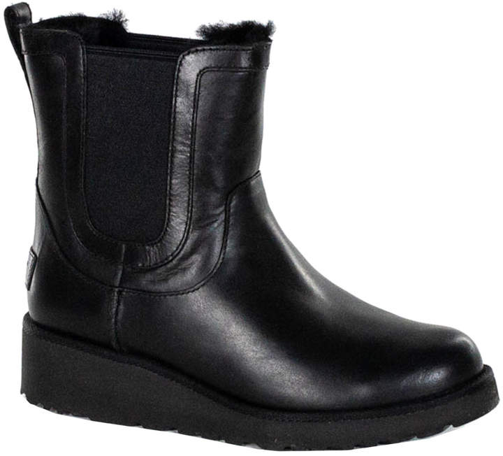 2a2f3c48c1f Women's Laurelle Leather Ankle Sheepskin Boot