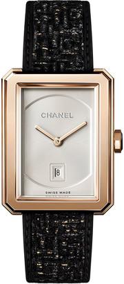 Chanel BOY&middotFRIEND TWEED WATCH
