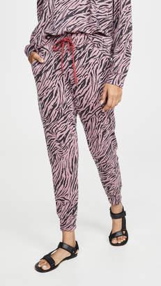 Sundry Zebra Tapered Sweatpants