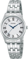 Pulsar Traditional Womens Stainless Steel Bracelet Watch PG2013