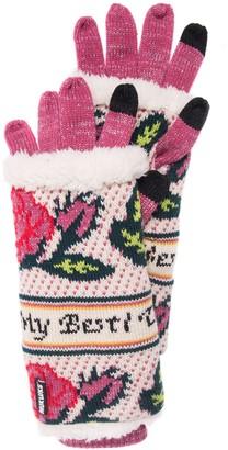 Muk Luks Women's 3-in-1 Gloves