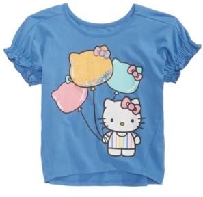 Hello Kitty Little Girls Balloon Faces Top