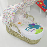 O Baby Obaby B is for Bear Moses Basket & Stand – Happy Safari