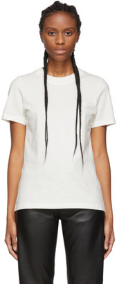 Acne Studios White Bla Konst Doe Badge T-Shirt