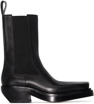 Bottega Veneta Lean cowboy leather boots