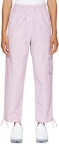 Thumbnail for your product : Nike Purple Sportswear Icon Clash Lounge Pants