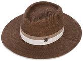 Maison Michel wide brim hat - women - Straw - M