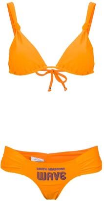 AMIR SLAMA South American Wave bikini set