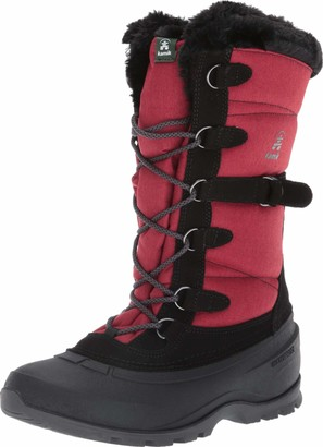 Kamik Women's Snovalley 2 Winter Boots Red 9