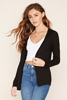Forever 21 FOREVER 21+ Cotton-Blend Cardigan