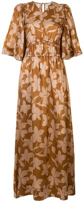 Lee Mathews Momo floral-print dress