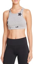 Spiritual Gangster Stars High Neck Sports Bra