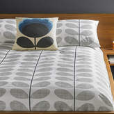 Orla Kiely Scribble Stem Duvet Cover - Light Concrete - Double