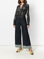 Moschino star print bodysuit