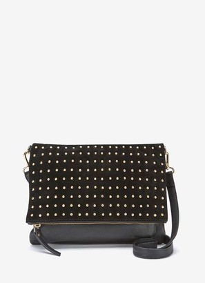 Mint Velvet Holly Black Stud Leather Bag