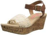 Jellypop Women's SHORTCAKE Wedge Sandal