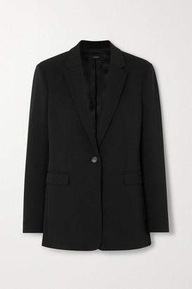 Joseph Oversized Wool-blend Blazer - Black