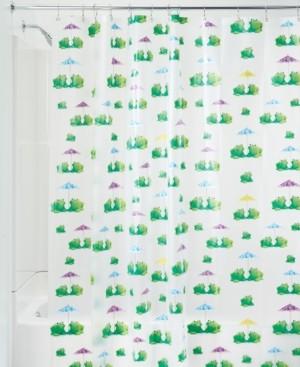 """InterDesign Frogs 72"""" x 72"""" Shower Curtain Bedding"""