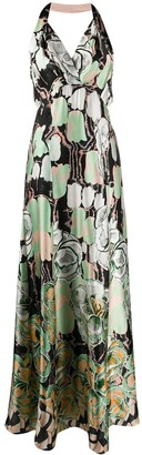 Temperley London Missy print strappy dress