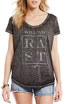 "William Rast Stardust ""Paisley Rast"" Graphic Tee"