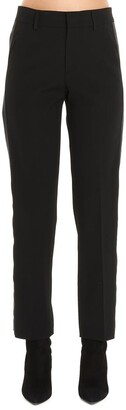 RED Valentino Cropped Slim-Fit Trousers