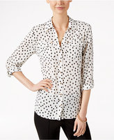 Charter Club Button-Front Shirt, Only at Macy's