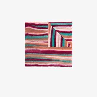 Missoni Multicoloured Striped Cashmere Scarf