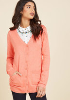 Dandong Kusong Trading Co., LTD Have a Good Knit Cardigan in Carnation