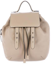 Mackage Pebbled Leather Backpack
