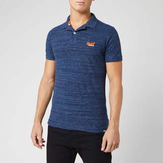 Superdry Men's Orange Label Jersey Short Sleeve Polo Shirt