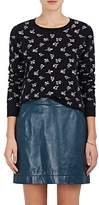 Marc Jacobs Women's Floral Cashmere Crop Sweater