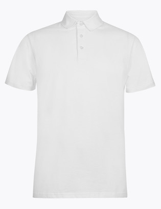 Marks and Spencer Cotton Polo Shirt