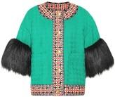 Gucci Wool-blend tweed jacket