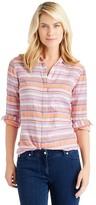 J.Mclaughlin Lois Shirt in Stripe