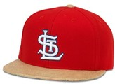 American Needle Men's Harlan Mlb Baseball Hat - Red