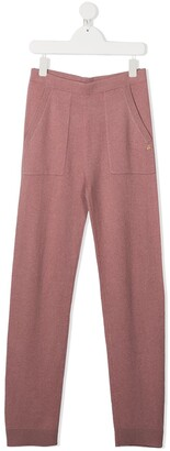 Bonpoint TEEN knitted slim-fit trousers